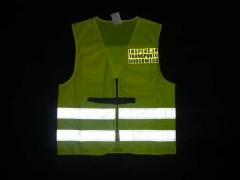 Kamizelka ostrzegawcza Inspekcji Transportu Drogowego (Przód)