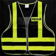 Policyjna kamizelka motocyklowa