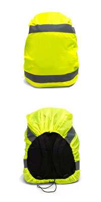 Odblaskowy pokrowiec na plecak